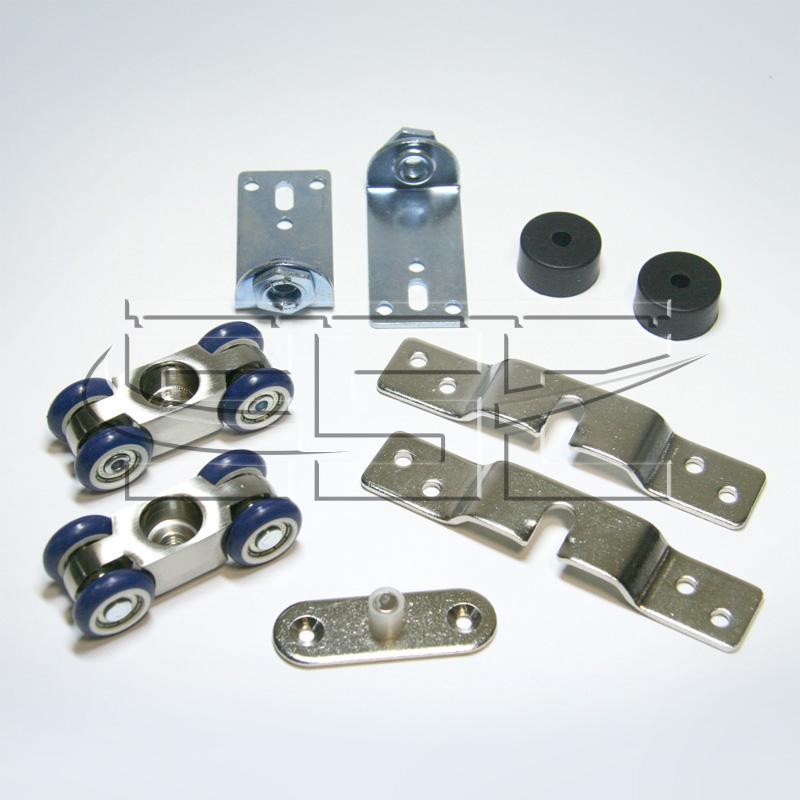 Ролики для раздвижных дверей ssc-d-103 slidecom.