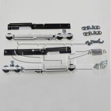 Раздвижные системы и комплекты для межкомнатных дверей Комплект с двухсторонней системой плавного закрывания (доводчик) SSC-X70 изображение 1