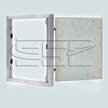 Строительная фурнитура Нажимной люк невидимка под плитку SSC-LUK изображение 2