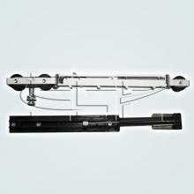 Раздвижные системы и комплекты для межкомнатных дверей Комплект с двухсторонней системой плавного закрывания (доводчик) SSC-X70 изображение 2