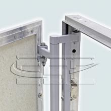 Строительная фурнитура Нажимной люк невидимка под плитку SSC-LUK изображение 4