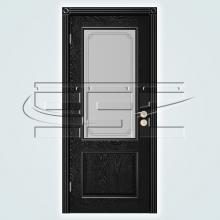 Двери Шервуд (эмаль) остекленное изображение 2