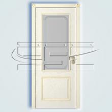 Двери Шервуд (эмаль) остекленное изображение 3