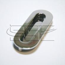 Фурнитура для раздвижных дверей Ручка для шкафа купе серебро SSC-080-CP изображение 1