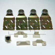Раздвижные системы и комплекты для межкомнатных дверей Ролики для шкафа купе SSC-045-B изображение 1