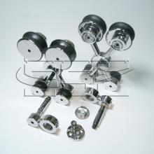 Комплект открытых механизмов для одной стеклянной  раздвижной двери SSC-050-B