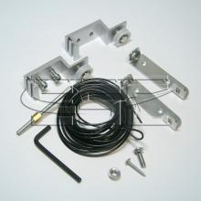 Раздвижные системы и комплекты для межкомнатных дверей Комплект механизмов для синхронных раздвижных дверей SSC-020-A изображение 1