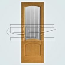 Двери Александрит остекленное изображение 2