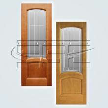 Двери Александрит остекленное изображение 1