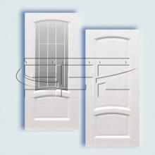 Двери Александрит (эмаль) остекленное изображение 2