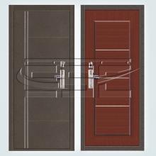 Металлическая дверь C128