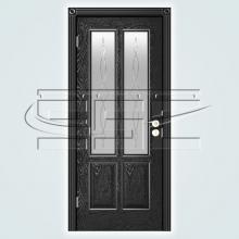 Двери Элегант (эмаль) остекленное изображение 2