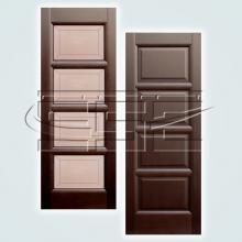 Двери Классика (глухое и остеклённое полотно) изображение 1