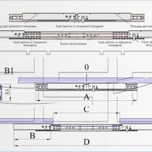 Механизм синхронного раздвижения для стола