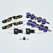 Раздвижные системы и комплекты для межкомнатных дверей Комплект механизмов на одну раздвижную дверь SSC-3017-A изображение 1