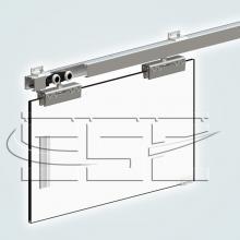 Фурнитура для раздвижных дверей Ролики для стеклянных дверей SSC-007 изображение 5