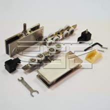 Комплект механизмов на одну стеклянную раздвижную дверь SSC-008-A