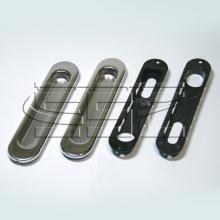 Фурнитура для раздвижных дверей Ручки овальные хром SSC-030-CP изображение 1