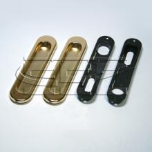 Фурнитура для раздвижных дверей Ручки овальные золото SSC-030-PB изображение 1