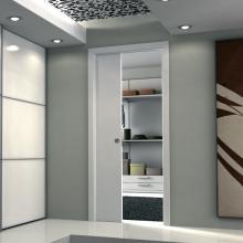 Раздвижные системы и комплекты для межкомнатных дверей Пенал для одностворчатой раздвижной двери SSC-040 изображение 7