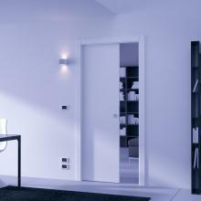 Раздвижные системы и комплекты для межкомнатных дверей Пенал для одностворчатой раздвижной двери SSC-040 изображение 8