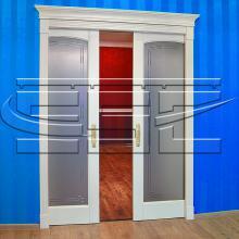 Металлический пенал для двух раздвижных дверей  под гипс SSC-041-G