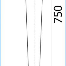 Фурнитура для мебели, где ножки для столов используют опору SSC-509 изображение 2