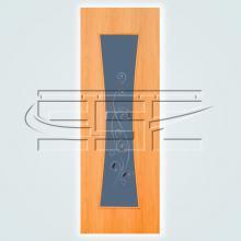 Часы остекленное полотно изображение 2