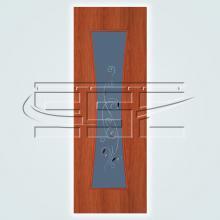 Часы остекленное полотно изображение 3