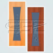 Часы остекленное полотно изображение 1