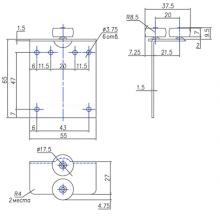 Раздвижные системы и комплекты для межкомнатных дверей Ролики для шкафа-купе SSC-215/216 изображение 2