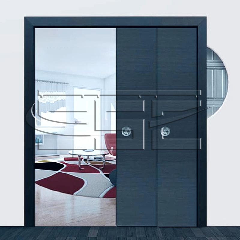 две двери в пенале slidecom.ru