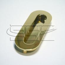 Ручка для шкафа купе золото SSC-080-PB изображение 1