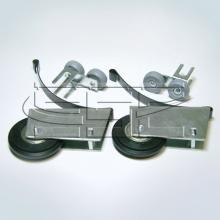 Ролики для шкафа купе асимметрия SSC-391 изображение 1