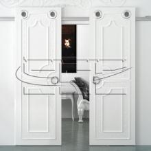 Систем раздвижных дверей купе премиум класса SSC-K-2-B