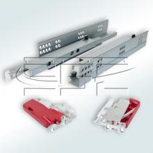 Механизм для раздвижного стола с направляющей скрытого крепления изображение 1