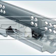 Механизм для раздвижного стола с направляющей скрытого крепления изображение 3
