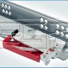 Механизм для раздвижного стола с направляющей скрытого крепления изображение 4