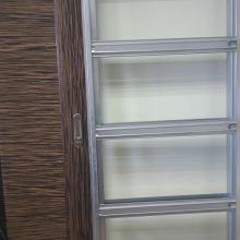Металлический пенал для одной раздвижной двери SSC-040-G изображение 1