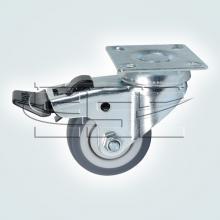 Колесо поворотное на площадке с тормозом SSC-0129 изображение 1