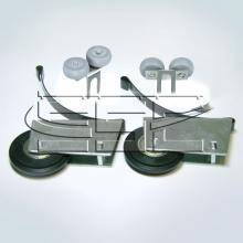 Ролики для шкафа купе синхрон SSC-391 изображение 1