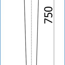 Фурнитура для столов с ножками конусными марки SSC-506 изображение 2