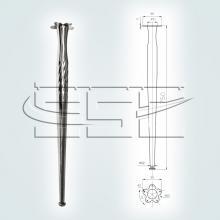 Фурнитура для столов с ножками конусными марки SSC-506 изображение 1