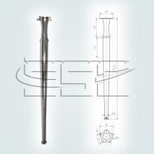 Фурнитура с ножками для стола марки SSC-507  изображение 1