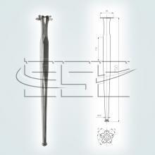 Опора для стола SSC-508 в высоту 750 мм изображение 1