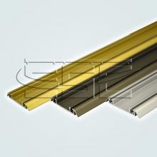 Нижний двухполозный профиль для шкафа купе ssc-606 изображение 1