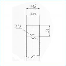 Мебельная фурнитура конусной опоры для столов марки SSC-710-D изображение 3