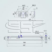Фурнитура для ящиков с доводчиком  изображение 2